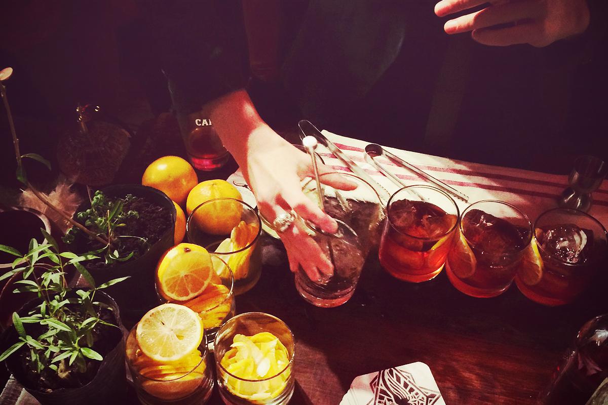 Diseñar una barra de cocktails